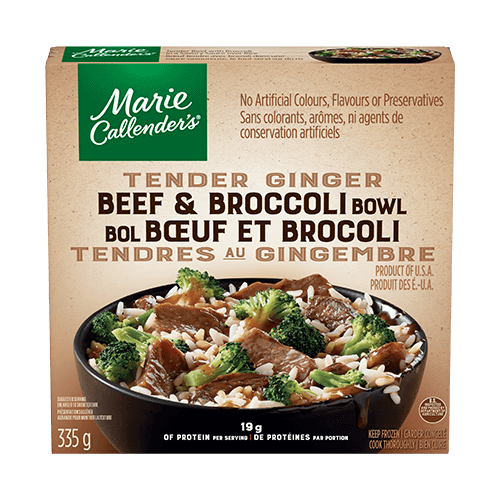 Tender Ginger Beef & Broccoli Bowl